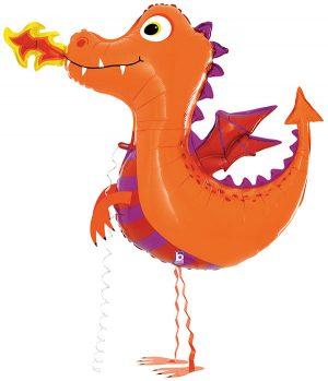 Globo andarín dragón 111cm