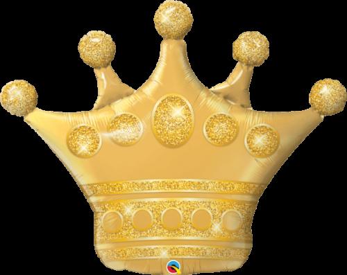 Globo metálico Corona