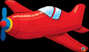 Globo metálico Avioneta