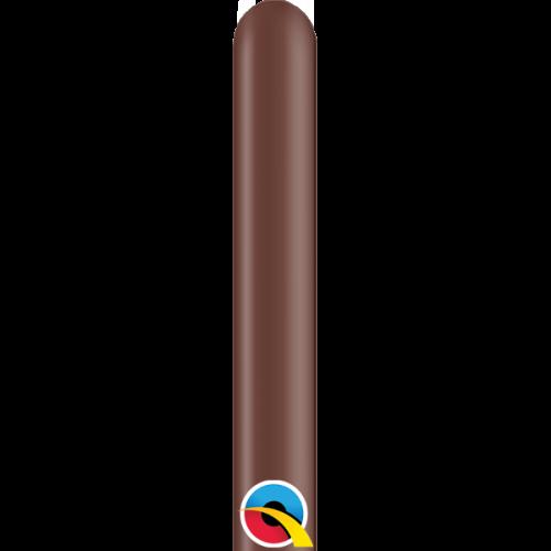 Globos para globoflexia 160Q Marrón Chocolate