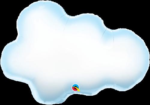 Globo metálico Nube