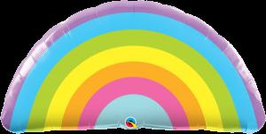 Globo metálico Arcoiris