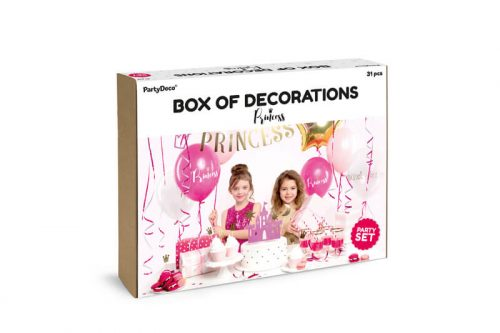 Kit decoración fiesta Princesas