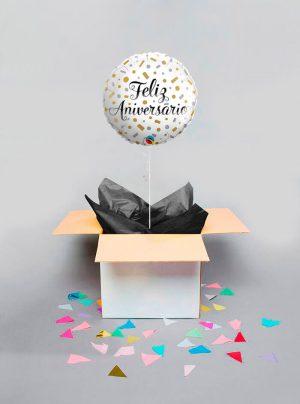 Globo sorpresa Feliz aniversario