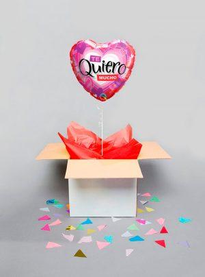 Globo sorpresa Te quiero mucho