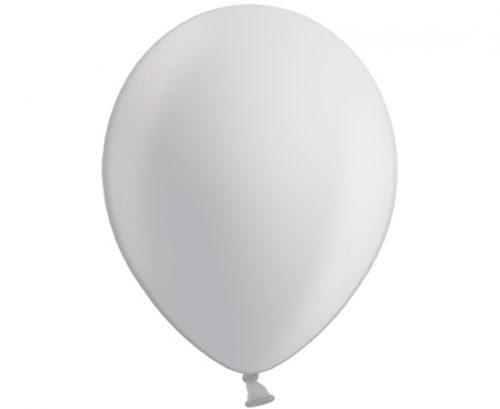 Globos de látex perlados color Plata