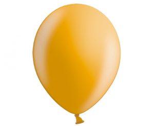Globos de látex perlados color Dorado