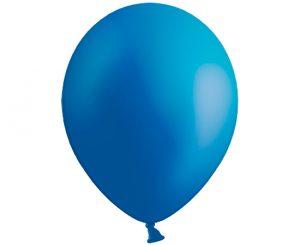 Globos de látex color Azul intenso