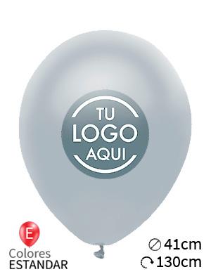 Globos personalizados estándar látex 41cm