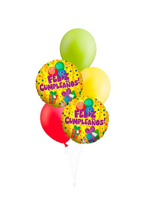Bouquet de globos Cumpleaños regalo