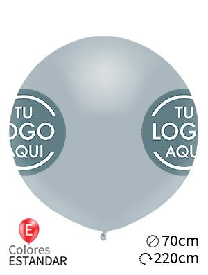 Globos personalizados estándar látex 70cm
