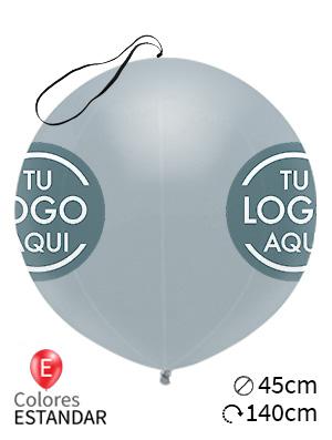 Globos personalizados punch ball látex 45cm
