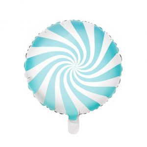 Globo metálico caramelo Azul
