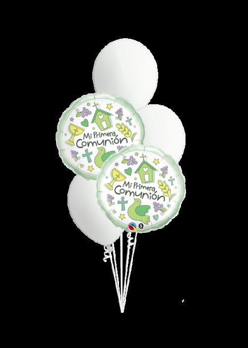 Bouquet de globos Mi Primera Comunión