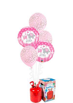 Helio + Bouquet Es una niña elefantes