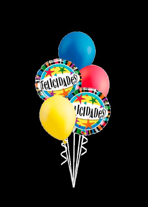 Bouquet de globos Felicidades!