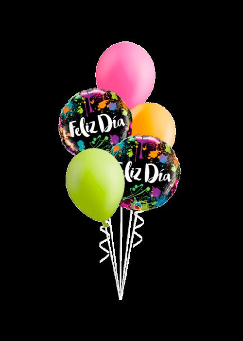 Bouquet de globos Feliz día