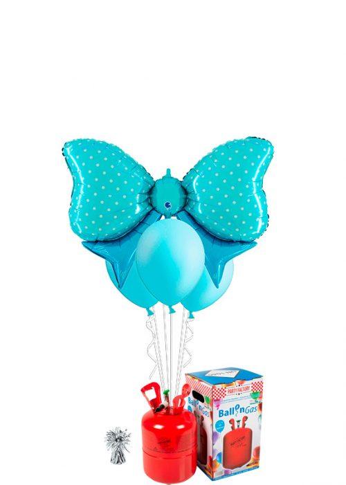 Helio + Bouquet Lazo azul