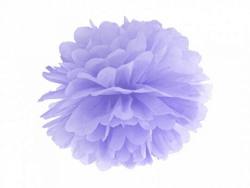 Pompon de papel color Lila claro