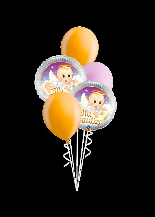 Bouquet de globos Mi bautizo