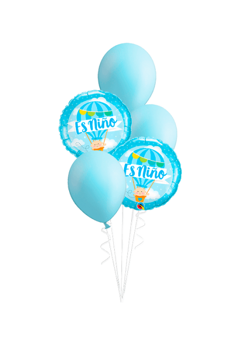 Bouquet de globos Es niño