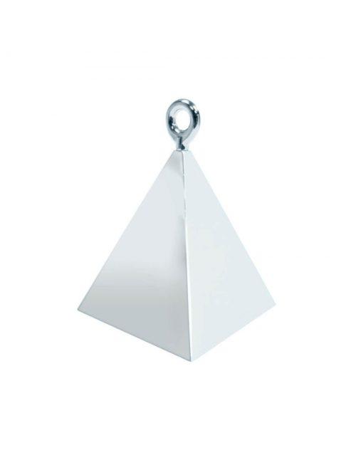 Peso para globos pirámide plata