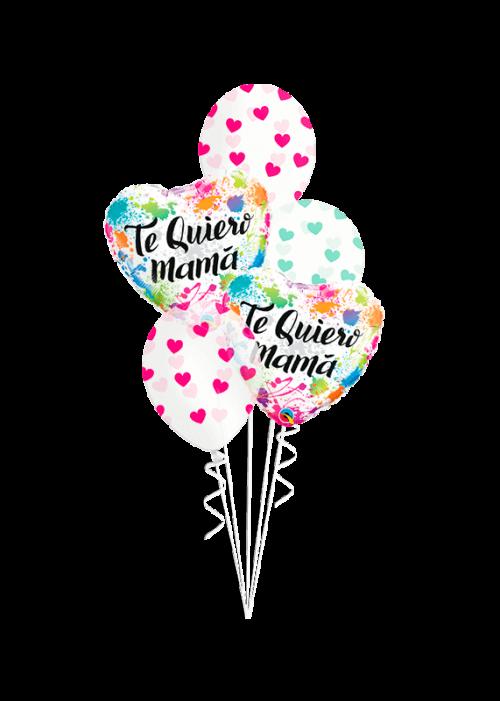 Bouquet de globos Te Quiero Mamá