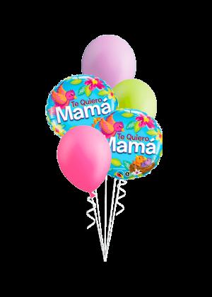 Bouquet de globos Te quiero mamá nido