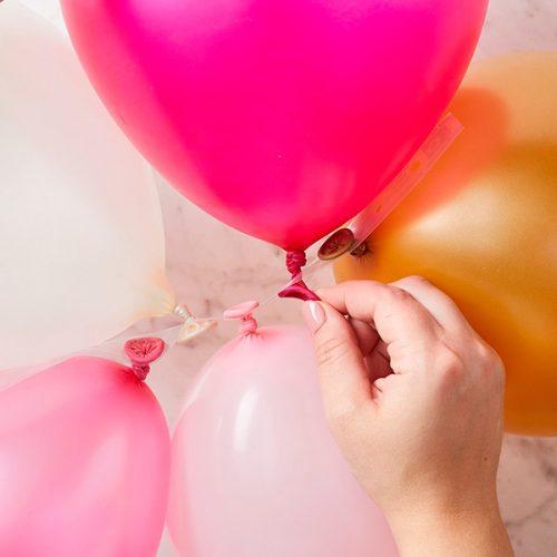 Cinta para hacer guirnaldas de globos