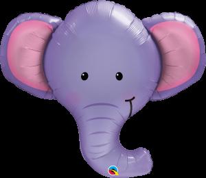 Globo metálico Elefante
