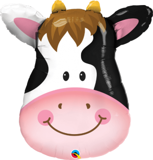 Globo metálico Vaca
