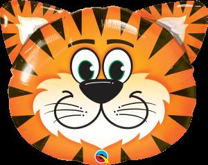 Globo metálico Tigre