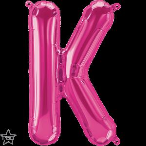 Globo letra K 41 cms.