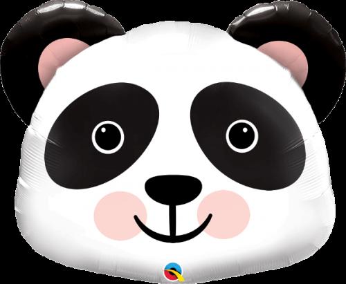 Globo metálico Panda
