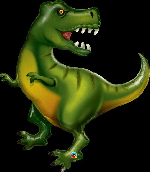 Globo metálico Tiranosaurio