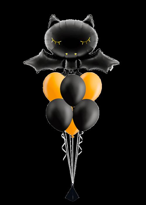 Bouquet de globos Murciélago Halloween