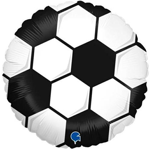 Globo metálico Fútbol Pequeño