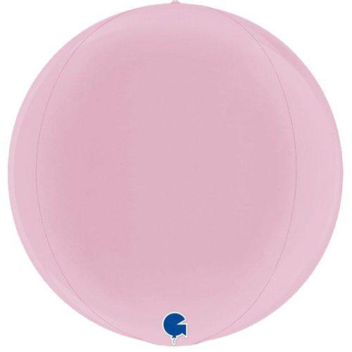 globo metalico esfera rosa
