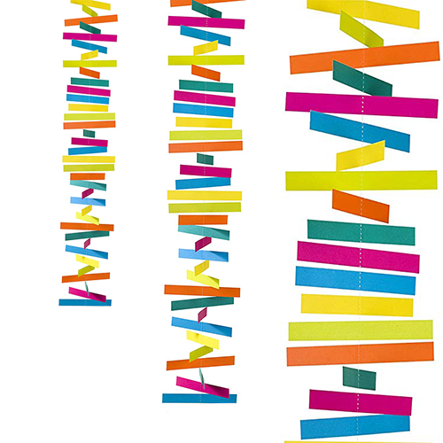 Guirnalda de Papel Multicolor