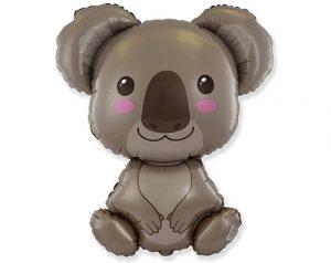 Globo metálico Koala