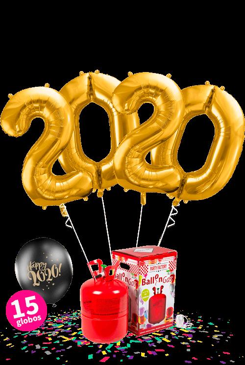 Helio maxi + Pack 2020 y 15 globos látex