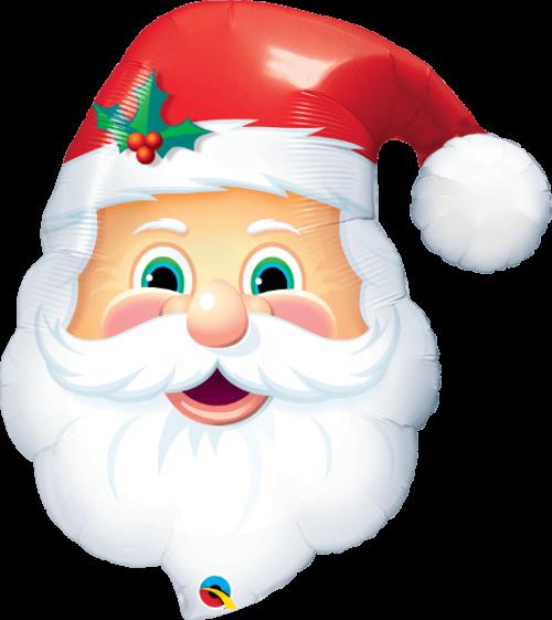 Globo metálico Papá Noel