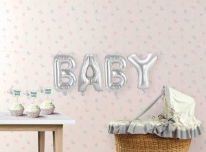 Pack letras BABY 36 cms.