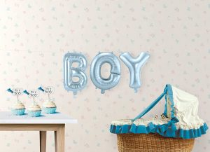 Pack letras BOY 36 cms.