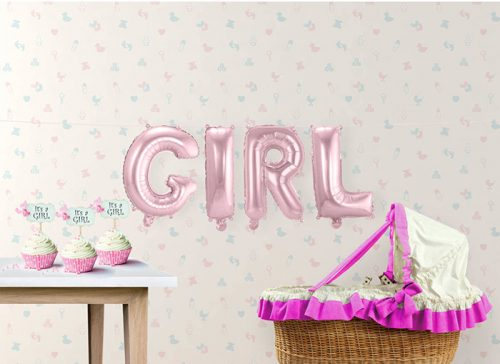 Pack letras GIRL 36 cms.
