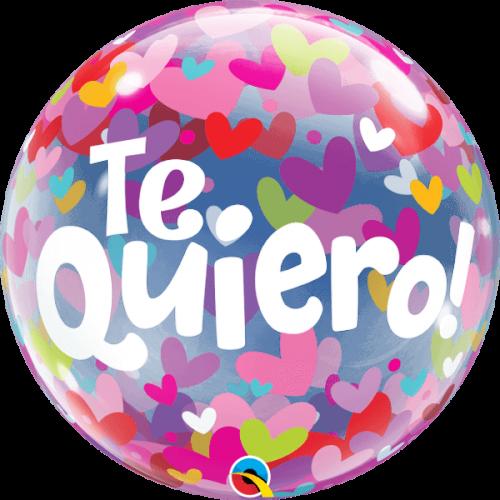Globo burbuja Te Quiero
