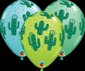 Globos de látex Cactus