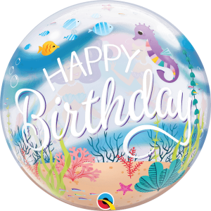 Globo burbuja Cumpleaños Sirenita