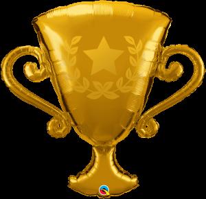 Globo metálico Trofeo