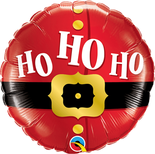 Globo metálico Papá Noel Ho Ho Ho!